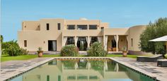 A #Marrakesh villa that merges contemporary designs with classic influences