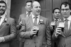 Steadying his nerves before his wedding at Kinnitty Castle. A real wedding by Couple Photography Wedding Ceremony, Wedding Day, Up For The Challenge, Tasmanian Devil, Magical Wedding, Sunset Photos, Down Hairstyles, Looking Stunning