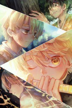 Read Kimetsu No Yaiba / Demon slayer full Manga chapters in English online! Manga Anime, Chibi Anime, Fanarts Anime, Anime Guys, Anime Art, Demon Slayer, Slayer Anime, Anime Angel, Anime Demon
