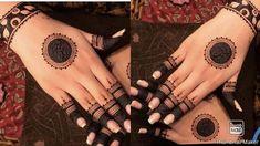Circle Mehndi Designs, Finger Mehendi Designs, Round Mehndi Design, Henna Designs Feet, Back Hand Mehndi Designs, Mehndi Designs For Girls, Mehndi Designs For Beginners, Mehndi Design Photos, Mehndi Designs For Fingers