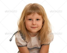 Realistic Graphic DOWNLOAD (.ai, .psd) :: http://hardcast.de/pinterest-itmid-1006730461i.html ... Portrait of a little girl ...  blonde, bright, child, closeup, cute, dress, enjoyment, girl, gown, isolated, kid, portrait, preschooler, smart, white, young  ... Realistic Photo Graphic Print Obejct Business Web Elements Illustration Design Templates ... DOWNLOAD :: http://hardcast.de/pinterest-itmid-1006730461i.html