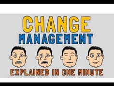 Change Management explained in 1 minute!
