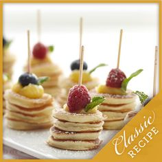 Mini Pancake Stacks - Stonewall Kitchen