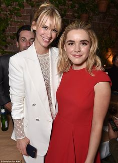 Picture this! Jon Hamm was seen photobombing his Mad Men co-stars January Jones, left, and Kiernan Shipka, right, at the AMC Holiday Party at Craig's in West Hollywood, California, on Thursday