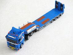 Lego Truck, Amazing Lego Creations, Trucks, Legoland, Legos, Transportation, Automobile, Two By Two, Lego Vehicles