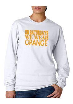 Tennessee Vols We Wear Orange Game Day Long by CollardQueenDreams