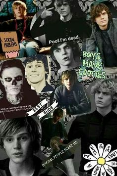 Evan Peters ♡ new wallpaper ♡