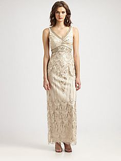 Mother of the Bride  Sue Wong Beaded Gown
