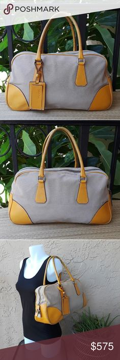 0a55fd43ddb Zip top closure. Double handles. Large silky interior. Bag is authentic.  Condition  The key for the lock is missing.