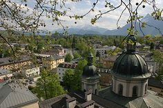 Salzburg.  Beautiful in summer AND winter