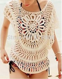 Find More Cover-Ups Information about 2014 New Style Cute Women's Scoop Neck Batwing Sleeve Openwork Smock Causal Style Cover Ups In Summer Fashion Beach Cothes,High Quality beach diy,China beach platform Suppliers, Cheap beach flag from Chinabestdeals on Aliexpress.com