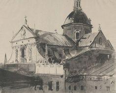 Kościół Św Piotra w Krakowie - Leon Wyczółkowski
