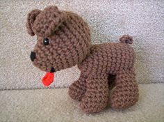 croceted animals | Boney the crochet dog | Flickr - Photo Sharing!