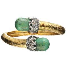 Coveting this Alexis Bittar Siyabona Bracelet from @CharmandChain--so pretty!