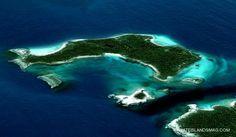헐리웃 스타들의 아름답고 신비로운 섬 :: 러브드웹의 인터넷이야기