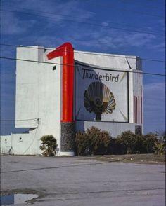 Thunderbird Drive-in Theater Corpus Christi Texas Color Photo Print Belleville Illinois, Corpus Christi Texas, Drive In Movie Theater, Theatres, Press Photo, Poster Prints, Ebay, Color, Colour