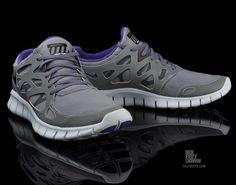 "Nike Free Run+ 2 ""Shield"" (Varsity Purple)"