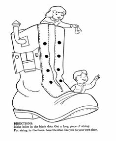 bluebonkers nursery rhymes coloring page sheets old woman lived in shoe mother goose