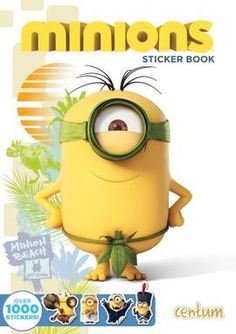 Celebrate the release of the new Minions movie (26 June 2015) with this brilliant Minions Mega Sticker Book at just £3.99! #Minions #DespicableMe