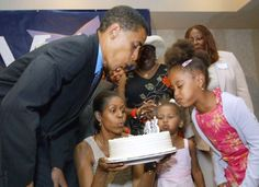 The President Likes Cake!