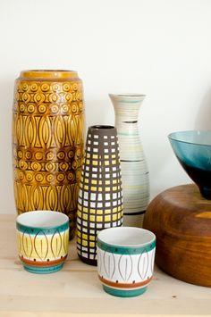 GroBartig Vase Im Skandinavischen 50er Jahre Look  Skandinavisches Design