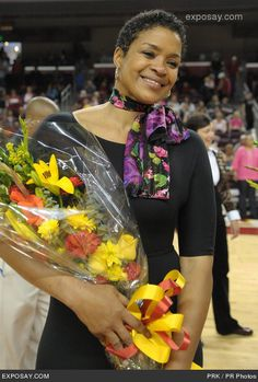 Pamela McGee (born December 1, 1962) is an American retired professional women's basketball player and assistant coach. At age 34, Pamela was the second overall pick in the 1997 WNBA Draft. She played in the league for two seasons with the Sacramento Monarchs and Los Angeles Sparks. In 1984, she won Olympic gold in Los Angeles before embarking on a professional career that included stints in Brazil, France, Italy and Spain. Her son . Javale McGee plays with the Denver Nuggets