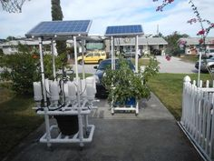 Hydroponics Build this Solar Powered Hydroponic Water Garden on Wheels - MUST READ! - Build this amazing solar powered, completely self contained hydroponic garden and grow the largest flowers,the tastiest fruits and vegetables that you can actuall.
