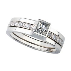 Andrew Geoghega Unity Princess Ring £4,700.00   http://johnsonsjewellers.co.uk/jewellery/andrew-geoghegan-unity-princess-ring