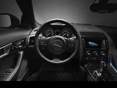 Jaguar F-Type #SVR #Lenkrad #Innenausstattung #Steeringwheel