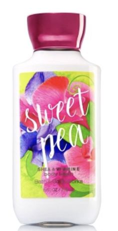 Signature Collection Sweet Pea Body Lotion - Bath And Body Works Bath And Body Works Perfume, Bath N Body Works, Body Mist, Body Lotions, Smell Good, Body Care, It Works, Fragrance, Signature Collection