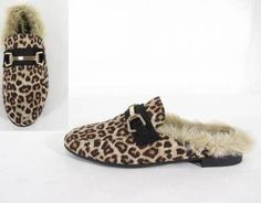 Gazell Leopard Loafer Mules #jessleaboutique
