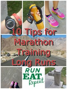 10 tips for marathon training long run