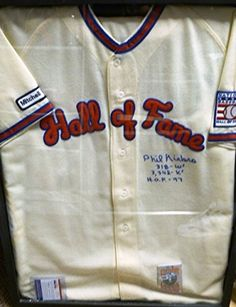 Phil Niekro Original HOF Autographed Induction Jersey PSA/DNA >>> Read more reviews of the product by visiting the link on the image.