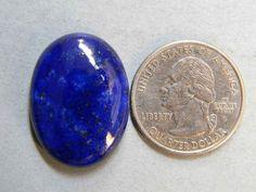 27x20 mm Arresting Lapis Lazuli Cabochon Gemstone Oval Shape