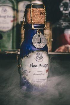 DYI Harry Potter Potions for Halloween: Floo Powder - Scrapbook.com