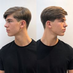 Peinado para hombre - Hair and beauty Classic Mens Hairstyles, Boy Hairstyles, Hair And Beard Styles, Curly Hair Styles, Hombre Hair, Gents Hair Style, Men Hair Color, Mens Hair Trends, Mode Masculine