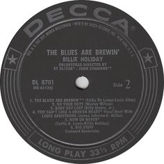 Billie Holiday - The Blues Are Brewin´ - Decca - USA