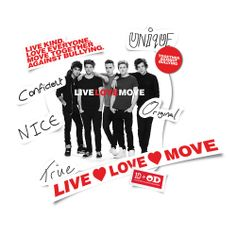 One Direction Limited Edition OD Together Locker Decals, Band Sweet Guys, Hot Guys, One Direction Edits, Love Moves, Love Everyone, Anti Bullying, Best Fan, Change My Life, Just Love