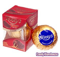 Terry's Dark Chocolate Orange Ball Gift Box