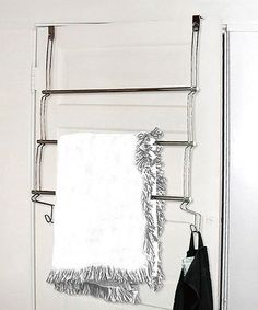 Better Bath® White Over The Door Towel Organizer   BedBathandBeyond.com |  New Furniture | Pinterest | Towels, Reg White And Doors