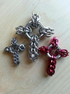 Chainmaille Crosses