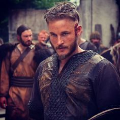 Travis Fimmel plays the lead role of Ragnar Lothbrok on the History Channel's historical drama series Vikings.