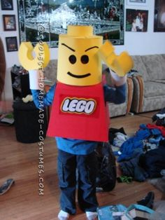 My 8-year son has been obsessed with Legos for the past 3-4 years. So when I asked him what he wants to be for Halloween he said A Lego Man. I w...