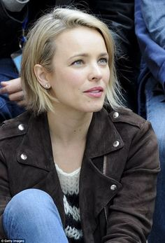 Rachel McAdams appears at the Telluride Film Festival - kurzhaarfrisuren My Hairstyle, Pretty Hairstyles, Short Hair Cuts, Short Hair Styles, Telluride Film Festival, Rachel Anne Mcadams, Rachel Mcadams Blonde, Jenifer Lawrence, Corte Y Color