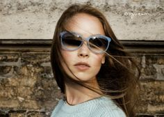 Orgreen 13/14 sunglasses campaign model - TALLULAH