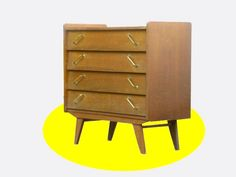 COMMODE VINTAGE STYLE SCANDINAVE ANNEES 50