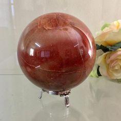 Red Jasper Crystal Sphere 110mm