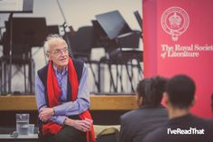 Novelist and playwright Michael Frayn visits the King Solomon Academy as part of the Royal Society of Literature's Education Outreach scheme Michael Frayn, King Solomon, Royal Society, Playwright, Literature, Novels, Education, Style, Literatura