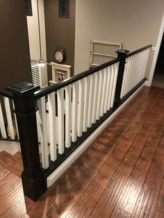 New Banister Banister Remodel, Banisters, Cribs, Bed, Furniture, Home Decor, Cots, Decoration Home, Bassinet