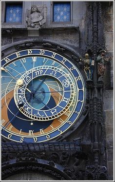Astronomical clock, Prague I love Prague and I so have to go there again. It's such a beautiful city, this clock included Places Around The World, Oh The Places You'll Go, Places To Travel, Places To Visit, Around The Worlds, Beautiful World, Beautiful Places, Europe Centrale, Parks